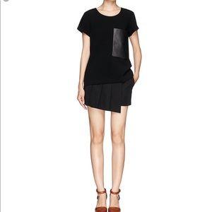 NWOT {Rag & Bone} Skort skirt shorts black